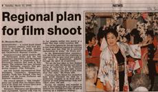 2000年3月 ニュージーランド『The Southland Times 』掲載